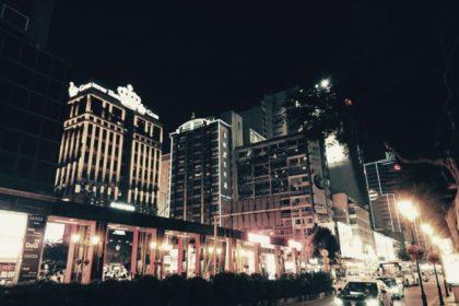 マカオの夜景
