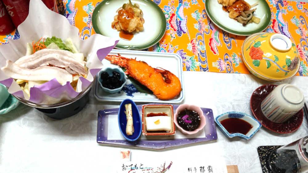 料亭那覇の料理